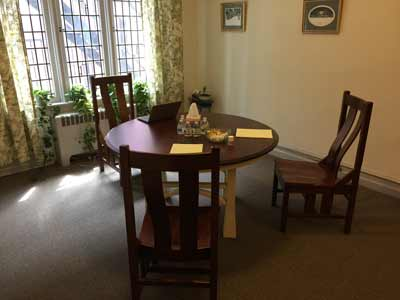 Divorce mediation room in Lancaster PA
