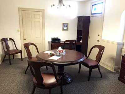Divorce mediation room in York PA